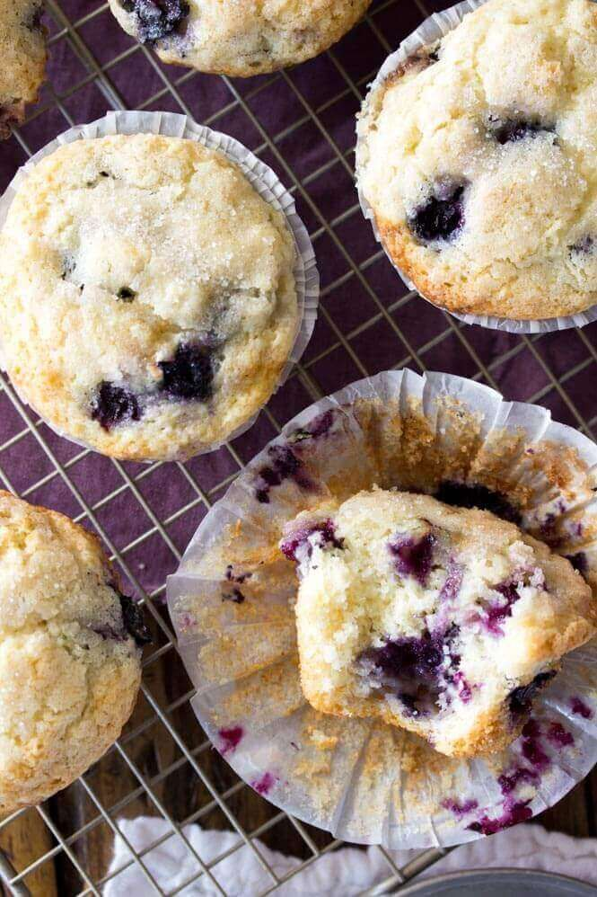 Blueberry Muffins From Scratch Recipe