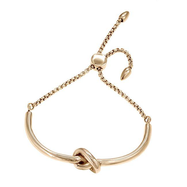 Ingnell Jewellery - Ella bracelet gold. Stainless steel. ingnelljewellery.com