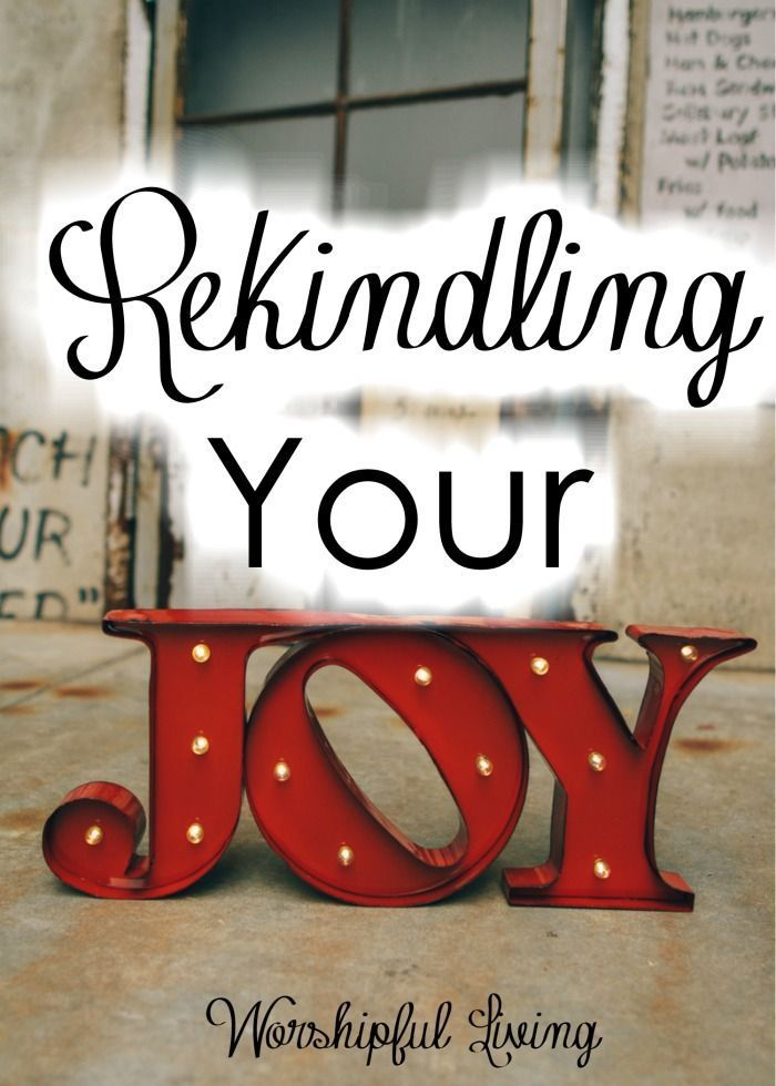 Is your joy missing? Mine was too. In every area of my life- I was missing joy. Today I share why & what I am doing to help get my joy back!