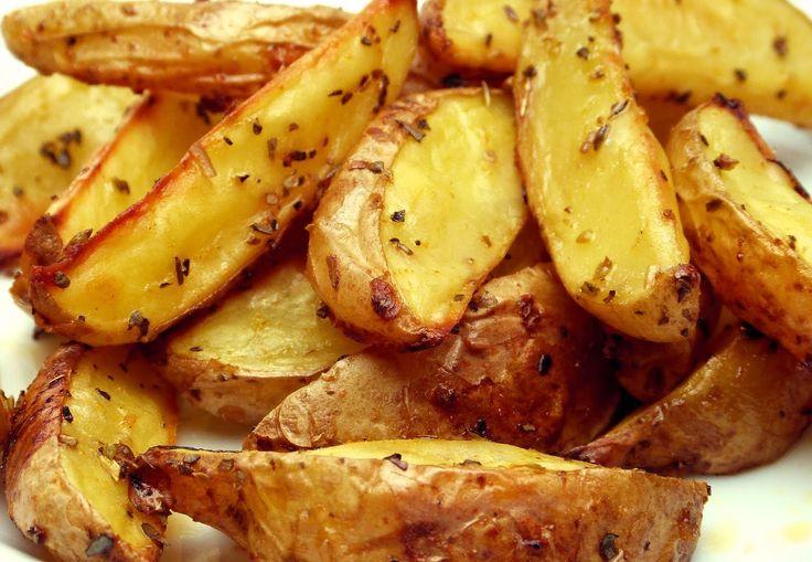 Fit Kızın Yemek Kitabı: Fırında light çıtır patates / Fırınlanmış çıtır patates dilimleri - 96 kkal/100g