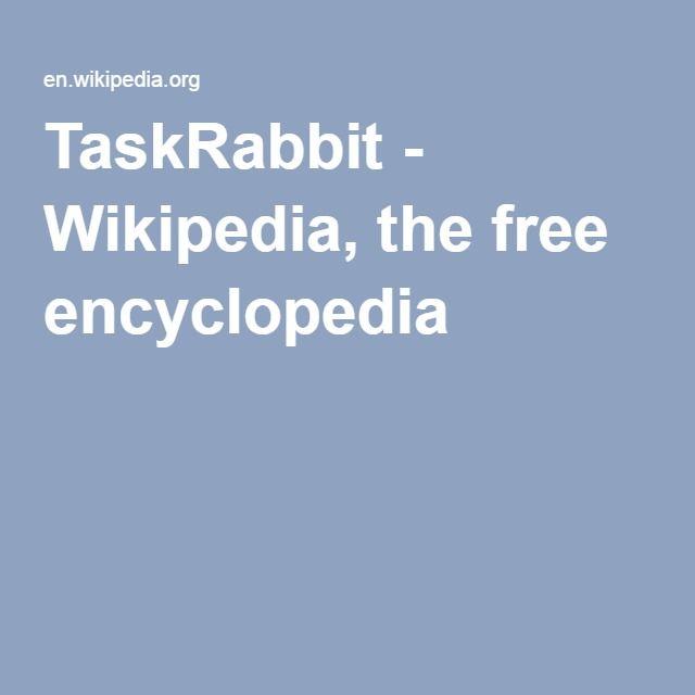 10 best taskrabbit images on pinterest bunnies rabbit and bunny taskrabbit wikipedia the free encyclopedia fandeluxe Images