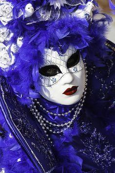 A mask at Venice carnival 2015