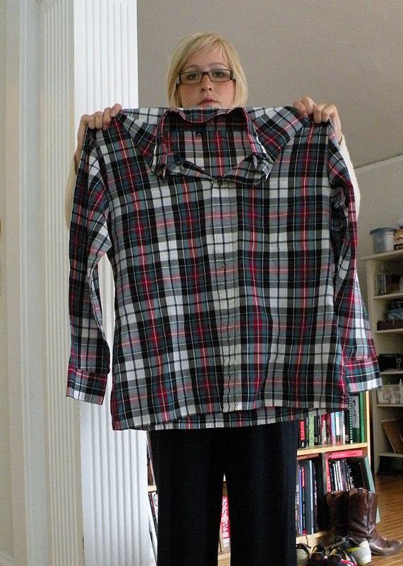 Repurpose Mens Shirts Into Fitted Womens Shirts Shirt
