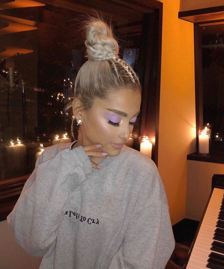 New Photo of Ariana Grande in the studio (No Tears Left To Cry). AG4 is coming!
