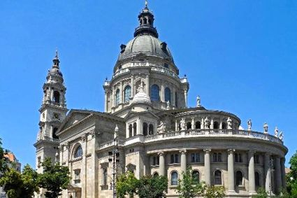 Szent István Bazilika (St. Stephen's Basilica) in Budapest.
