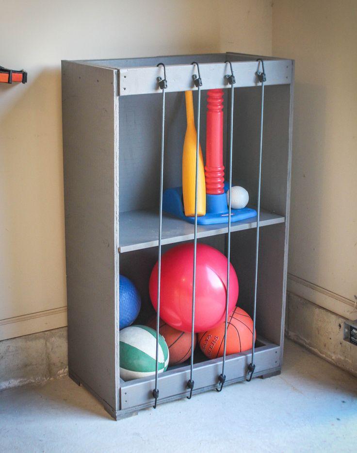 Bungee Ball Garage Storage