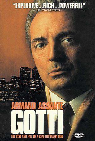 HBO's GOTTI DVD (1996) Armand Assante Anthony Quinn Vincent Pastore
