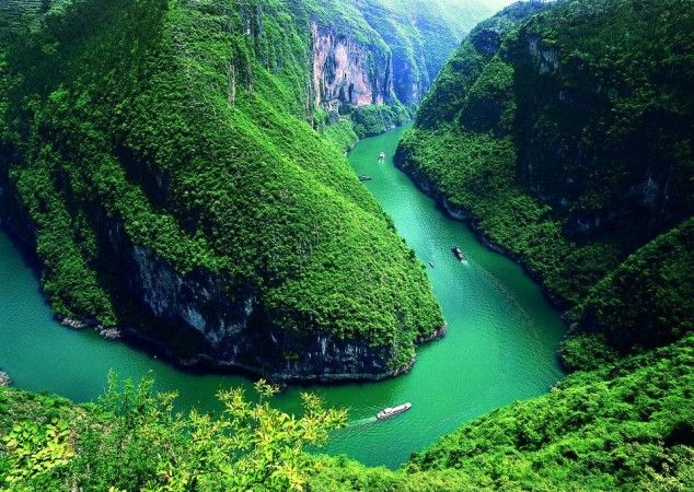 10 Longest Rivers in the World - Chang Jiang (Yangtze), China, 3.602 miles