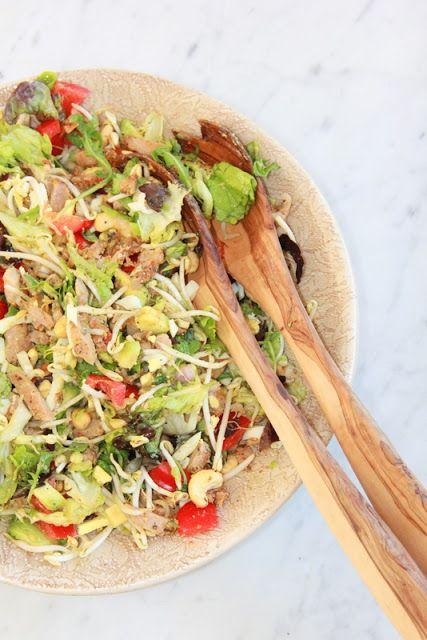 De smaak van Cécile: Kip piri piri salade
