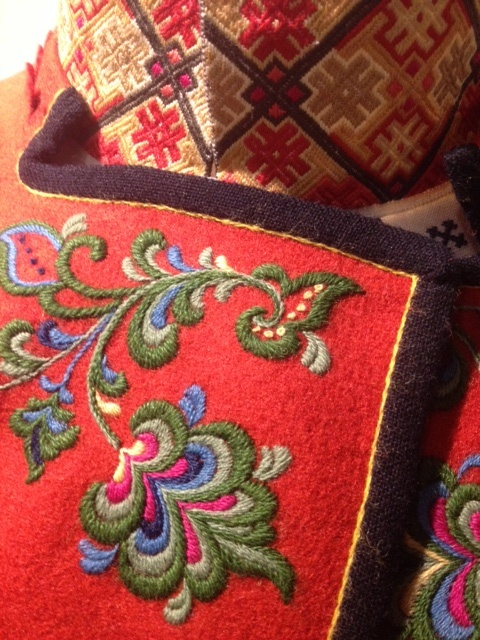 Another part of a Norwegian national costume from Heimen Husflid in Oslo