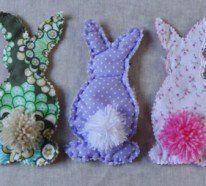 Osterdeko nähen - Schöne Deko Ideen zu Ostern.Wie wird Ihre Osterdeko dieses Jahr aussehen? Worauf wollen Sie diesmal setzen? Auf etwas Traditionelles oder