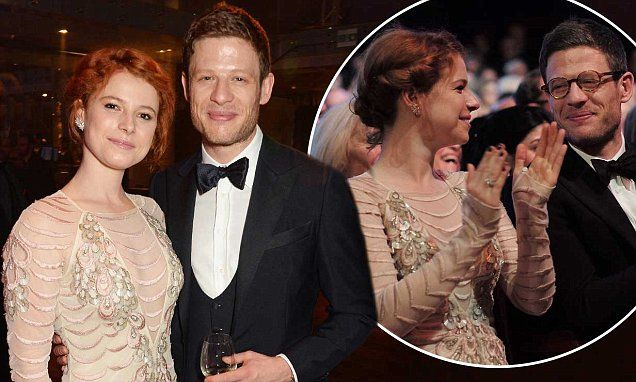 James Norton and girlfriend Jessie Buckley attend Olivier Awards
