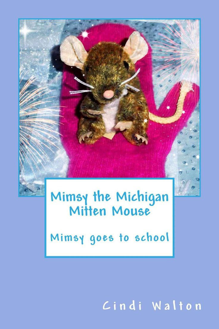 A delightful story about Mimsy, a tiny mouse living in a basket of mittens at the local resale shop. Mimsy's entire world changes when she is rescued by Jenna, a third grade teacher at Kingsley Elementary School.