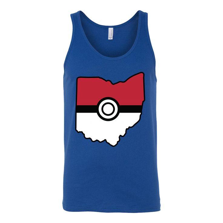Pokemon USA American State Unisex Tank Top T Shirt - TL00623TT