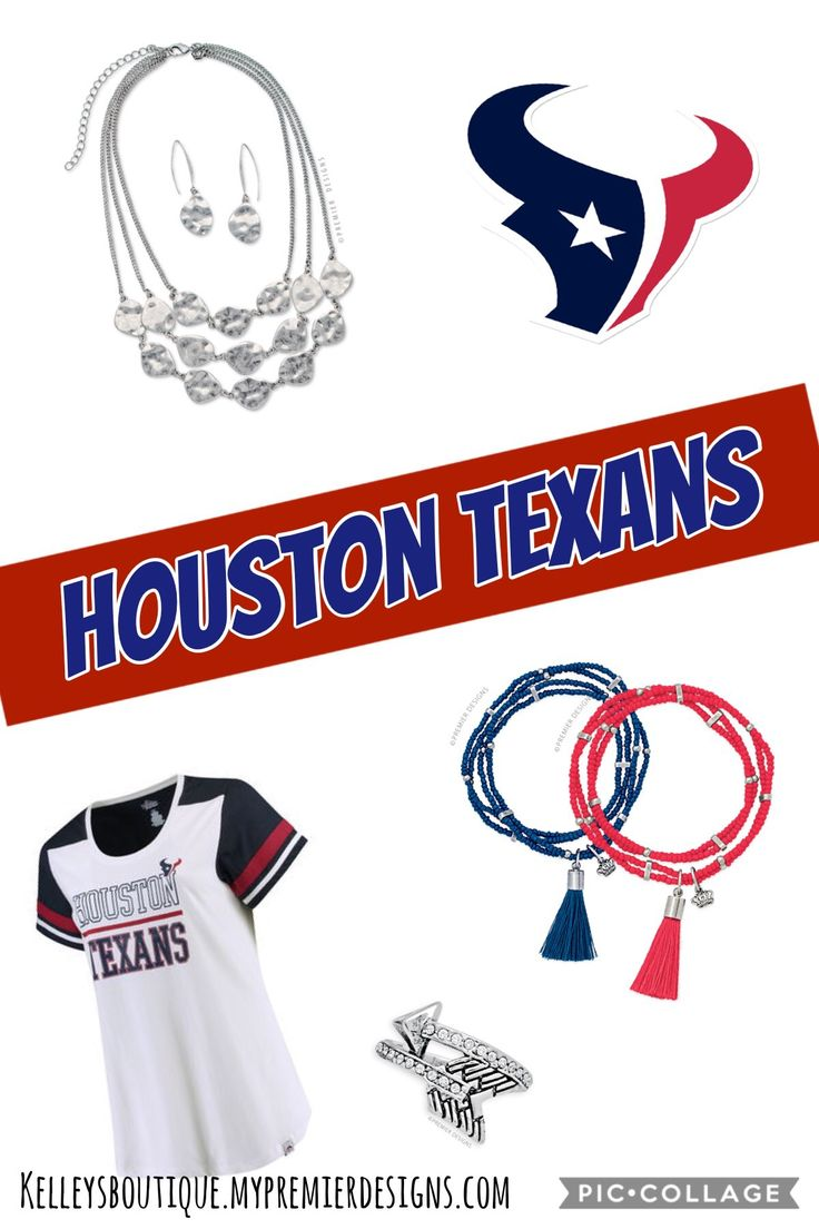 Premier Designs jewelry team spirit - Houston Texans jewelry #Houston #Texans #football