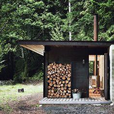 #getoutdoors #upknorth Tiny One Room Cabin Nestled Part 47