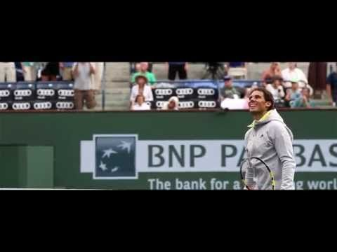 Rafael Nadal Mini Movie | BNP Paribas Open: Even Milos was formidable today, Rafa looked good in the three hour marathon. Not long before he'll be kicking up dust on the red clay courts of Europe : )  Vamos!