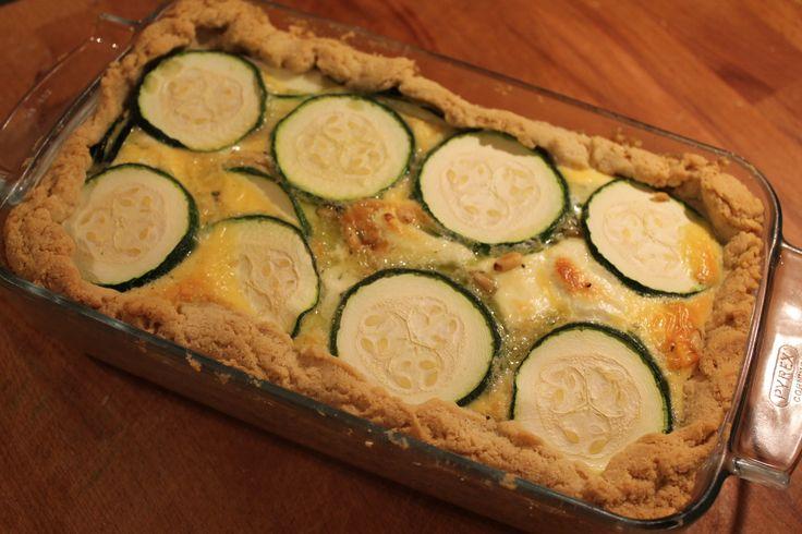 gluten vrije ovenschotel courgette geitenkaas