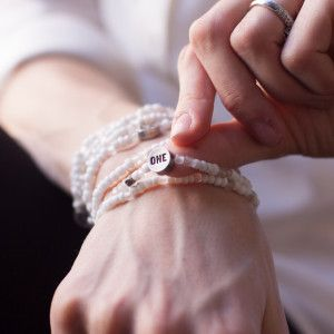 Wear the change you want to see. Relate casuse bracelets