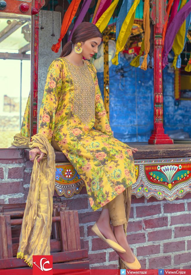 Generation EID Collection. Ideal as a guest mendhi/thal outfit. Also can be worn of subkhdar.