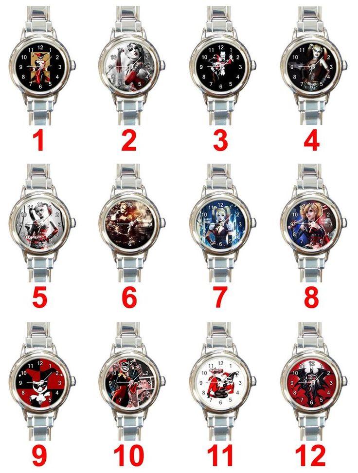 Harley Quinn & The Joker Villain Batman Movies Games Charm Ladies Wrist Watches #Unbranded #Casual