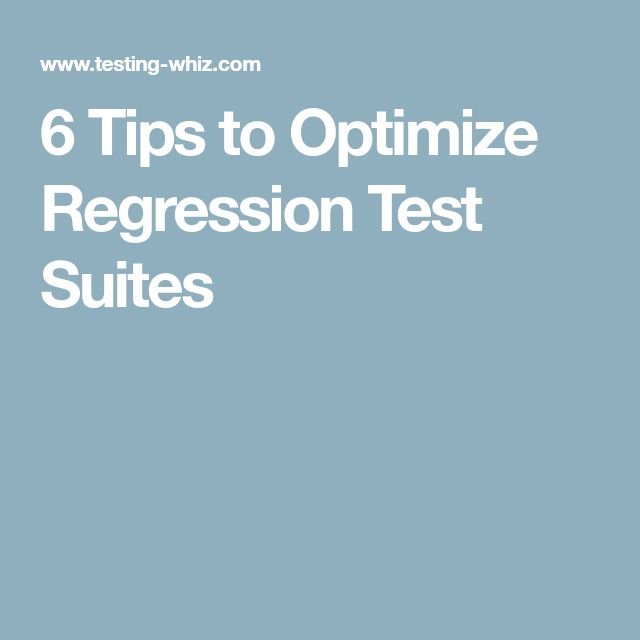 Best  Regression Testing Ideas On   Past Life