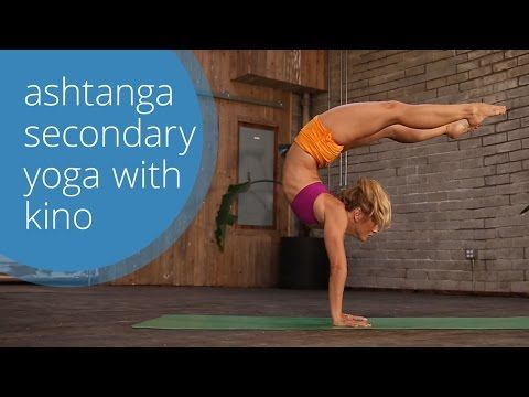 Ashtanga Second Series Yoga Class with KinoYoga (free home practice!) - YouTube