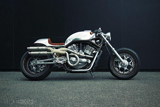 Rare Harley V-Rod Cafe Racer | GBlog