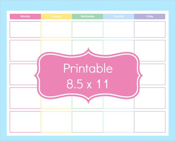 photograph relating to Free Printable Teacher Planner Pdf referred to as Blank Lesson Software Template 15+ Totally free PDF, Excel, Phrase