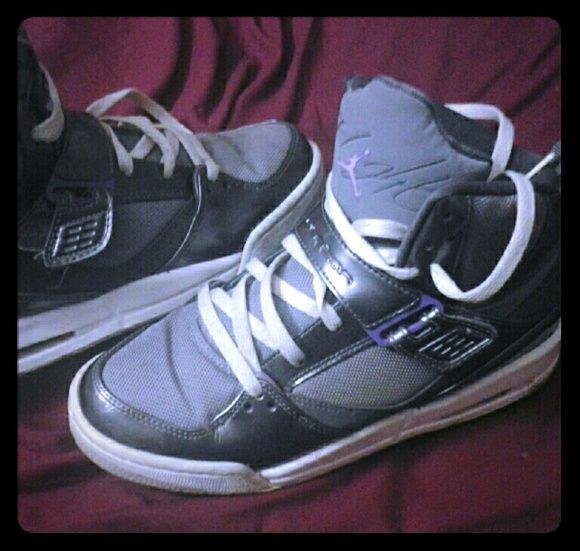 Authentic Jordan true flight 7y women 8 Still in good condition price refects the wear on them Jordan Shoes Sneakers