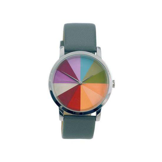 SFMOMA MuseumStore | Color Wheel Watch: Grey