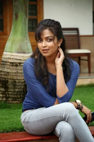 Amala Paul Pics in Jeans