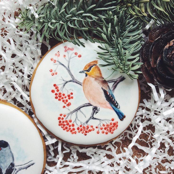 Birds, cookies, gingerbread