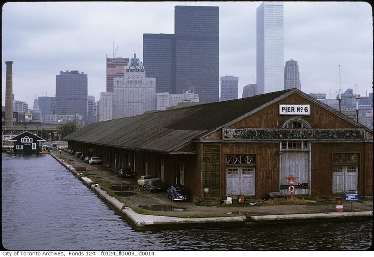 The old pier, Toronto, late 60s