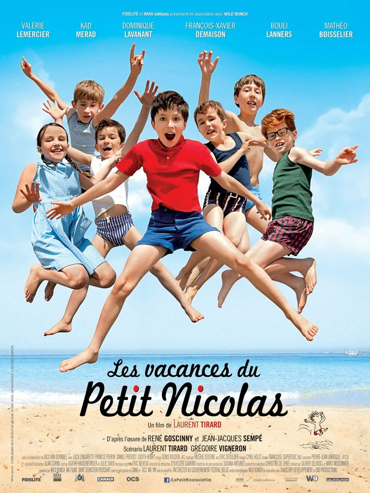 """Activités pour les premiers jours de classe autour de l'affiche et des bandes annonces du film """"Les vacances du Petit Nicolas""""."""