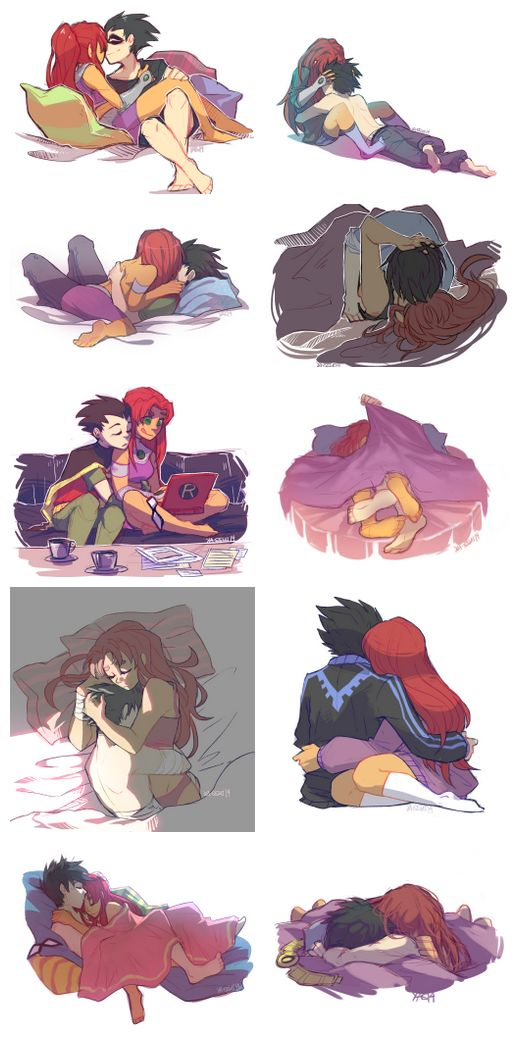 http://nidoranduran.tumblr.com/post/113653638023/ya-ssui-robstar-snuggle-doodle-dump-ovo-they  I ADORE THIS