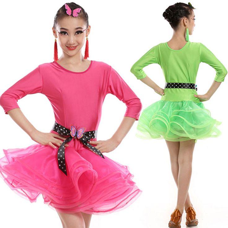 >> Click to Buy << New Child Children Girl Ballet Dance Dress For Girls Cha-Cha Kid Latin Dress Dancing Girl Dancewear Kid School Latin Costume #Affiliate