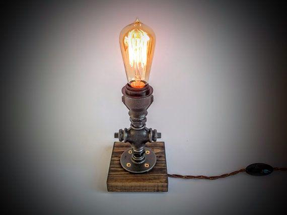 lampe de table de chambre coucher prise en par silverbeardlampco