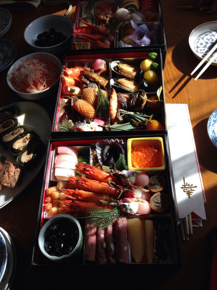 Japanese traditional meal 'Osechi' おせち お正月