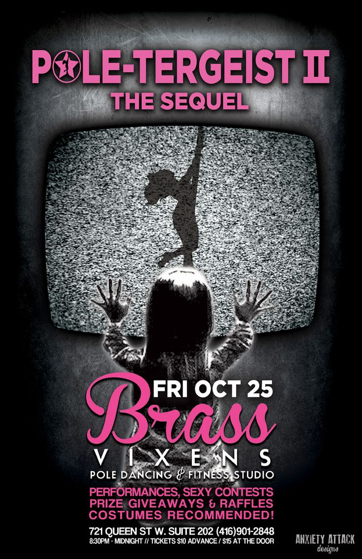 POLE-TERGEIST THE SEQUAL - Friday October 25th, 2013!  #partytime
