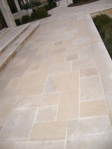 Exceptional Indiana Limestone Pavers