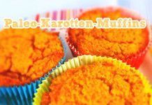 Histaminarme Paleo-Karotten-Muffins