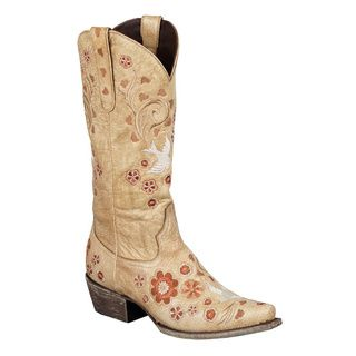 Hand-Crafted Lane Boots Women's 'Groovy Girl' Cowboy Boots