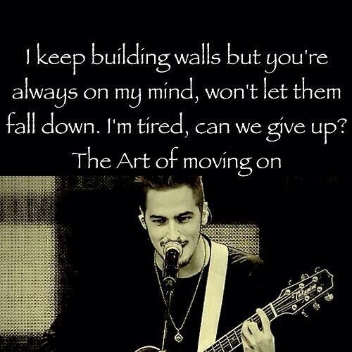 Art Of Moving On By Heffron DriveOne My Favorites The
