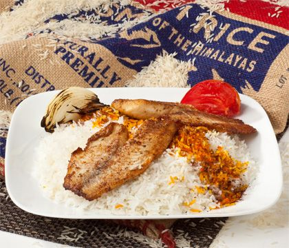 Fish Rice Traditional Dishes - Traditional Persian Dishes to Take Out, Catering