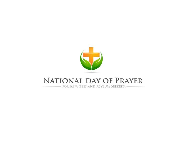 Create a logo for the National Day of Prayer for Refugees and Asylum Seekers by ttly