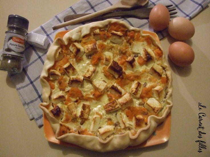 Le Carnet Des Filles - Blog Nail Art, Beauté, Cuisine, Loisirs créatifs: Tarte Patate douce - Feta - Pignons de pin