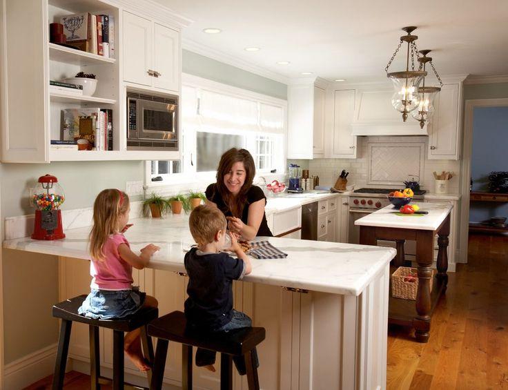 Best 25+ Kitchen Peninsula Ideas On Pinterest | Kitchen Bar Counter, Kitchen  Peninsula Diy And Kitchen Peninsula Inspiration