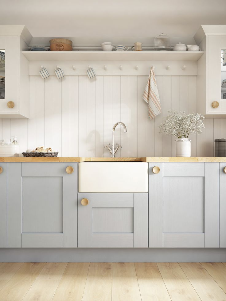 Whitby from the Laura Ashley Kitchen Collection #lauraashleykitchens