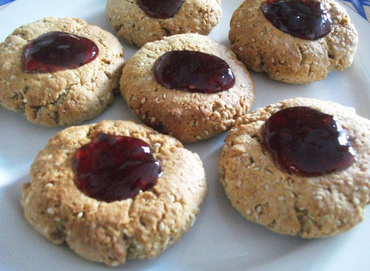 peanut butter and jelly cookies 2 | Sweet Tooth | Pinterest